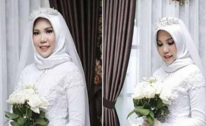 بعد كارثة الطائرة الإندونيسية.. صورة مؤلمة في يوم الزفاف