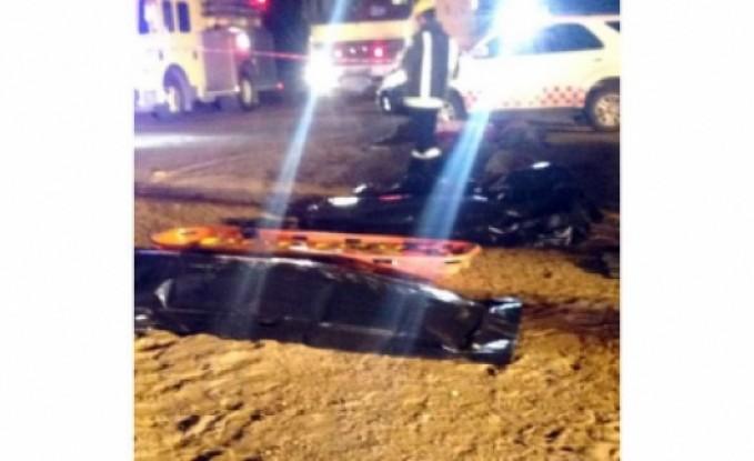 شركة السياحة  : سبب حادث المعتمرين انشغال السائق بالهاتف