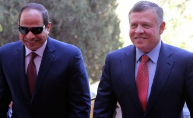 الملك والسيسي يبحثان تطورات الأوضاع في المنطقة