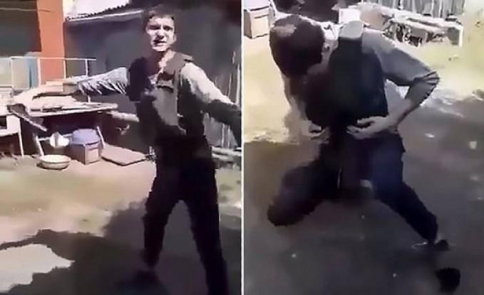 فيديو  شاب يقتل نفسه أمام الكاميرا خلال اختبار سترة مضادة للرصاص!