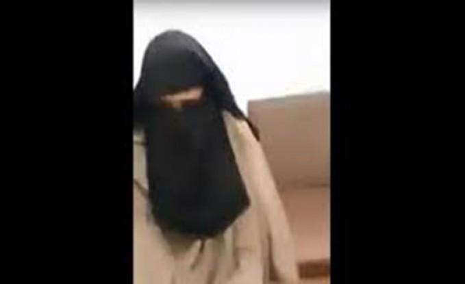 فيديو- موظف في مستشفى يرتدي نقاباً ويتحرّش بالسيّدات!