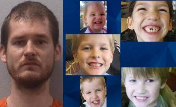امريكي يقتل اطفاله الخمسة بطريقة مرعبة!