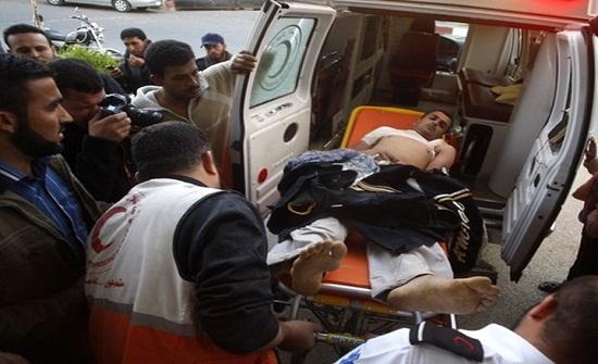 14 جريحا برصاص الاحتلال شرقي غزة وحباليا