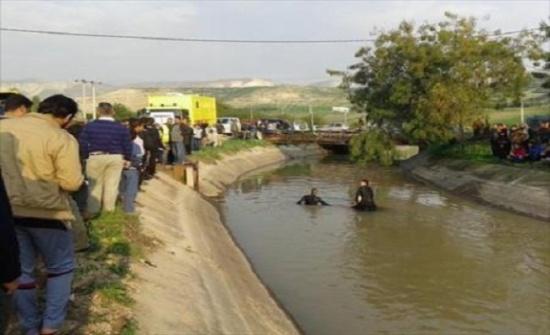وفاة طفل في الخامسة من عمره غرقاً داخل قناة الملك عبدالله