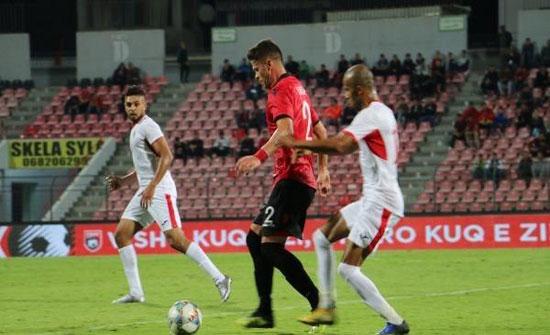 مدرب منتخب الاردن فخور بأداء لاعبيه أمام ألبانيا