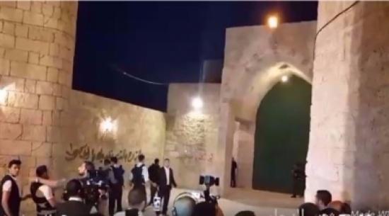 بالفيديو: مشهد تمثيلي لهنية يدخل الأقصى بعد تحريره يثير جدلاً واسعاً