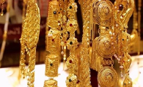 الذهب يتراجع اعتبارا من مساء الاربعاء