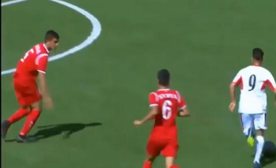 بالفيديو : الاردن يفوز على سوريا واشتباكات بين الفريقين