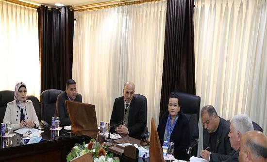الأميرة سناء تطلع على مشاريع بلديات محافظة اربد في مجال تدوير النفايات