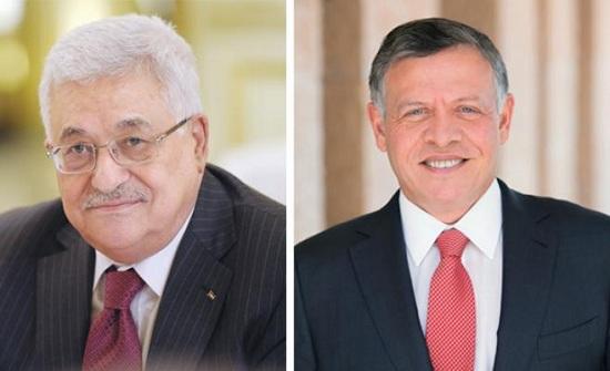 عباس يشيد بالدعم الاردني للشعب والقضية الفلسطينية