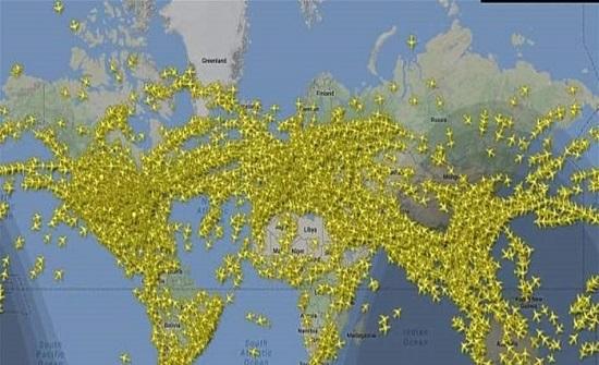 230 ألف رحلة بنفس اللحظة.. تعرفوا إلى أكثر الأيام ازدحاما بتاريخ الطيران