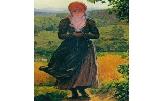 """العثور على """"آيفون"""" في لوحة تعود إلى عام 1860!"""