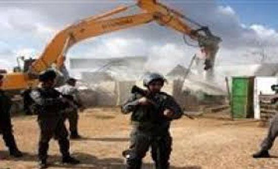 الاحتلال يهدم قرية العراقيب بالنقب للمرة الـ143