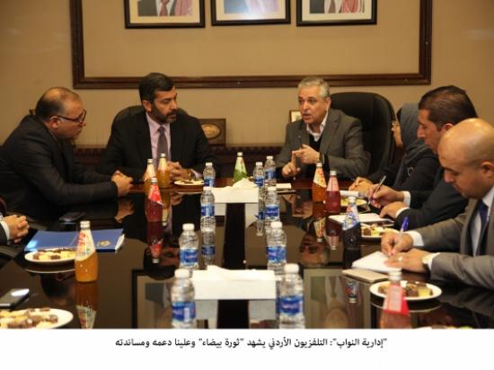 """""""إدارية النواب"""": التلفزيون الأردني يشهد """"ثورة بيضاء"""" وعلينا دعمه ومساندته"""