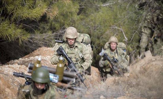 الجيش التركي يطلق عملية برية من اعزاز باتجاه عفرين