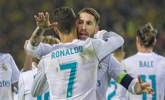 هكذا تصرف نجوم ريال مدريد لرفع معنويات كريستيانو