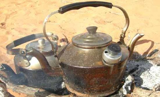 شاي على الطريقة الاردنية
