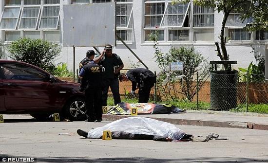 بالفيديو.. لحظة اغتيال ملكة جمال جواتيمالا بالشارع وفي وضح النهار