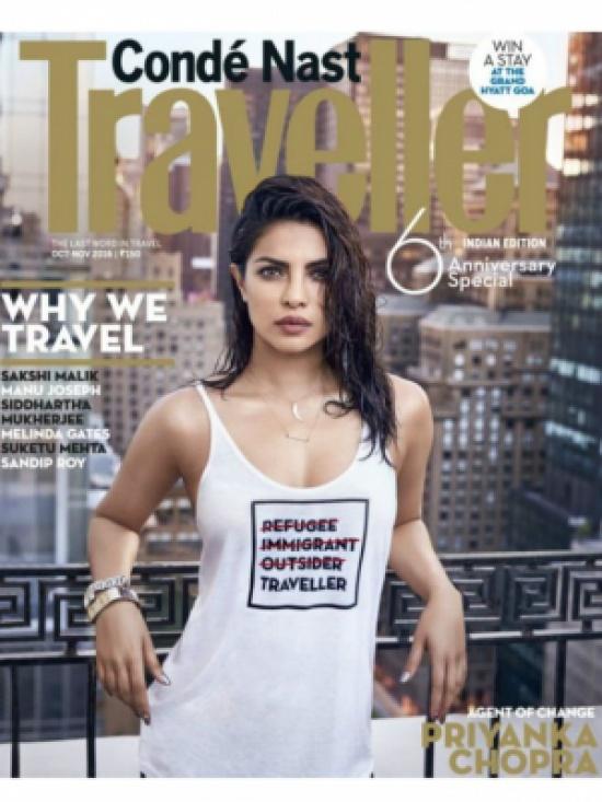 """ممثلة هندية شهيرة تعتذر عن ظهورها في قميص """"مسيء لمشاعر اللاجئين"""""""