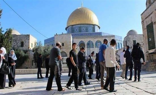بالفيديو: عشرات المستوطنين المتطرفين يقتحمون المسجد الأقصى المبارك