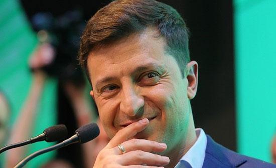 مهرج يهودي يتحول إلى  رئيس أوكرانيا