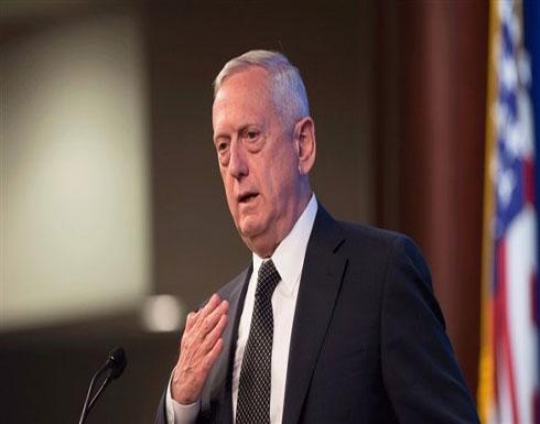 """وزير الدفاع الأميركي: سورية احتفظت بأسلحة كيميائية """"دون شك"""""""