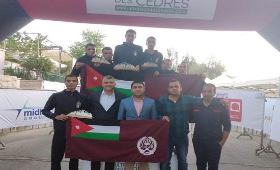 منتخب الدرك يسيطر على المراكز الأولى في سباق 'الترا تريل' الدولي في لبنان