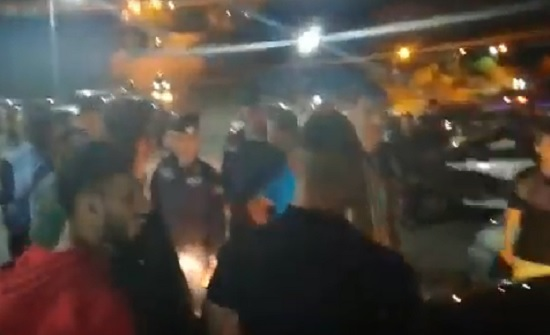 جرش : احتجاج بعد زيارة المهندس وليد المصري