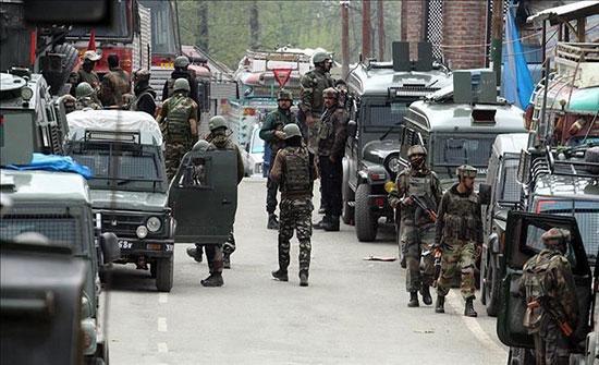 الهند: مقتل 4 مسلحين في اشتباك مع قوات الأمن باقليم جامو كشمير