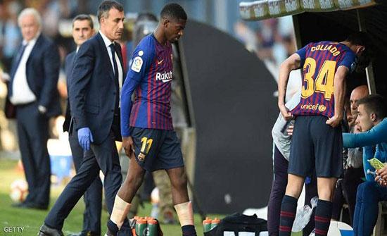 """""""ضربة قوية"""" لبرشلونة قبل موقعة ليفربول"""