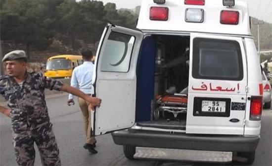 وفاة و إصابة (3) أشخاص اثر حادث تدهور في العقبة