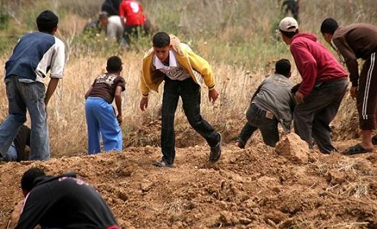 الاحتلال يقصف موقعين للمقاومة شرق غزة