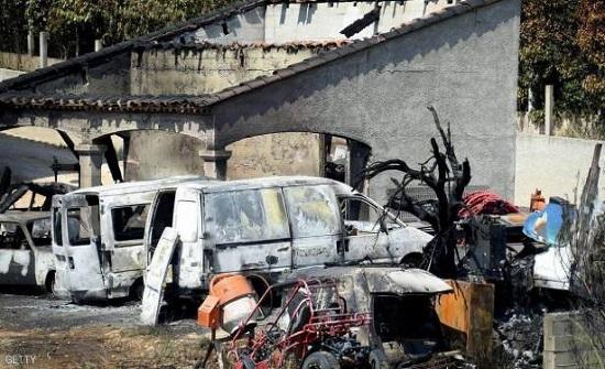 موجة الحر تشعل حرائق في فرنسا وتقطع الكهرباء