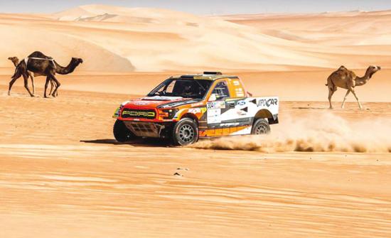 فريق سعودي من ذوي الاحتياجات الخاصة يُشارك في باها الأردن