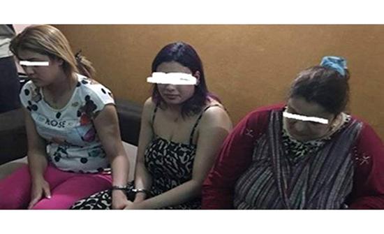 ضبط شبكة فتيات مصريات بالكويت في أعمال مخلة بالاداب