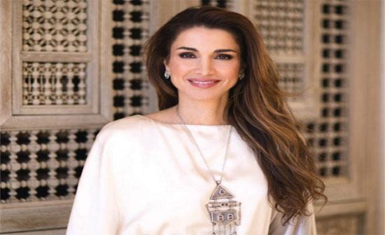 الملكة رانيا تتصدر قائمة الشخصيات الأكثر تأثيراً في الشرق الاوسط