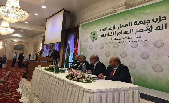مراد العضايلة أميناً عاماً للعمل للإسلامي