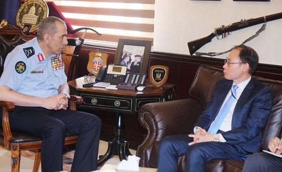 اللواء الحمود يبحث مع سفير كوريا الجنوبية التعاون المشترك