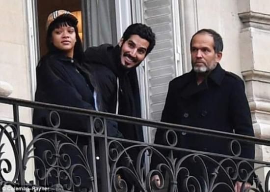 شاهد: موكب الحراسة المرافق لريهانا والسعودي حسن جميل في باريس