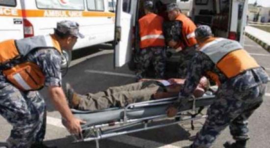الدفاع المدني :٥٥ إصابة نتيجة ١١٧ حادثاً مختلفاً