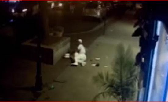 بالفيديو - شاب يرمي بجسده فوق صديقته لحمايتها من الرصاص في أوهايو!