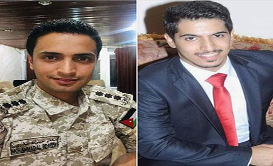 مبارك الترفيع ..الملازم الدكتور محمد البدارين و النقيب عبدالله البدارين
