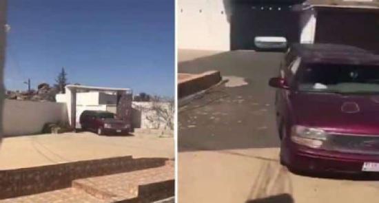شاهد: فتاة تطلق أعيرة نارية احتفالاً بخروج والدها من المستشفى!