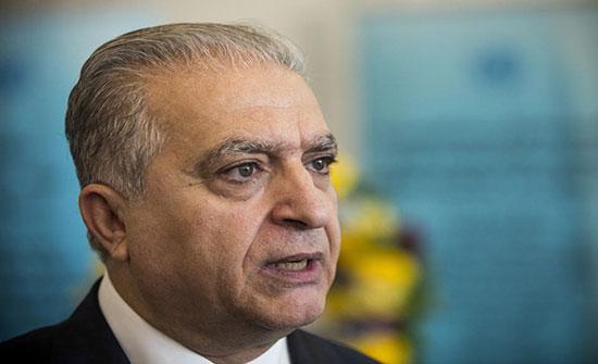 وزير الخارجية العراقي يصل مقر السفارة البحرينية