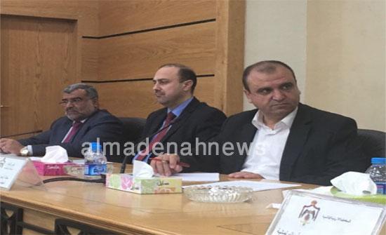 بالفيديو والصور : التسجيل الكامل لاجتماع لجنة التوجيه الوطني مع الوزارات والاحزاب السياسية والنقابات عن القدس