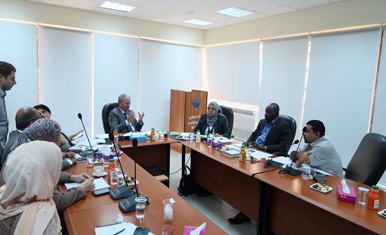 وفد حقوقي سوداني يزور الوطني لحقوق الإنسان ويطلع على تجربته
