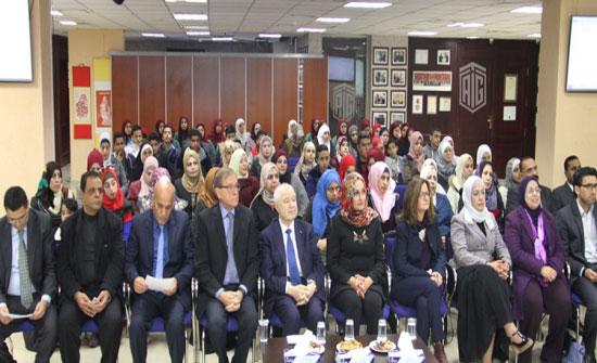 أبوغزاله يكرّم المتميزين في التربية الإعلامية في مدارس وكالة الغوث –الأونروا