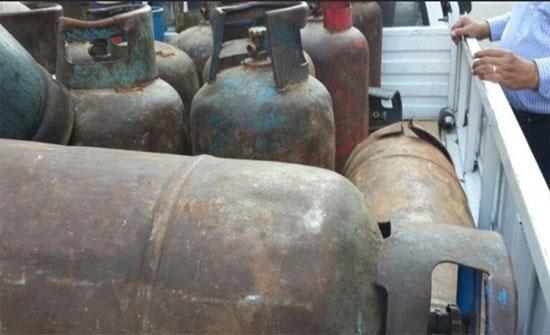 تدهور مركبة محملة باسطوانات الغاز في الكرك ..ولا إصابات في الارواح