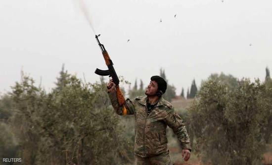 عفرين.. تركيا تواصل القصف والأكراد يتحدثون عن استعادة مناطق