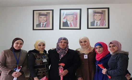 مهندسات جرش يحتفلن بيوم المرأة العالمي وعيد الأم ويوم المهندسة العربية
